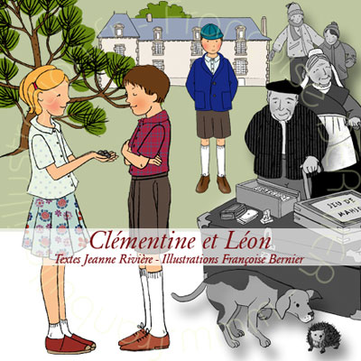 illustrations de Clementine et Leon