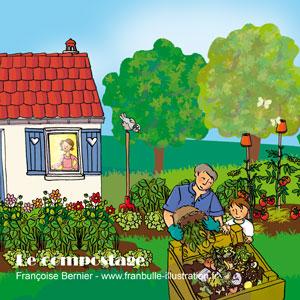 compostagejpg - Jardin Dessin
